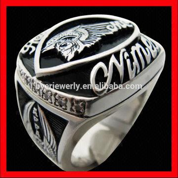 ring large championship products football rings fantasy