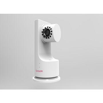 China Wireless Video Monitor Camera 1.0mp, Night Vision, P2p, Play Music, Motion, Sound, Temperature