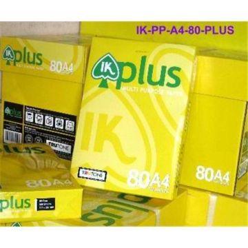 IK Plus Multi Purpose Copy Paper A4 80gsm | Global Sources