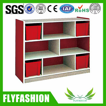 China Nursery Furniture High Quality Kids Storage Cabinet