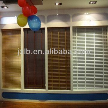 China Plastic Vinyl Pvc Horizontal Blinds With 25mm 35mm 50mm Slats
