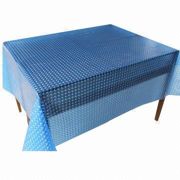 Peva Table Cloth Waterproof Easy To Clean Eco Friendly And