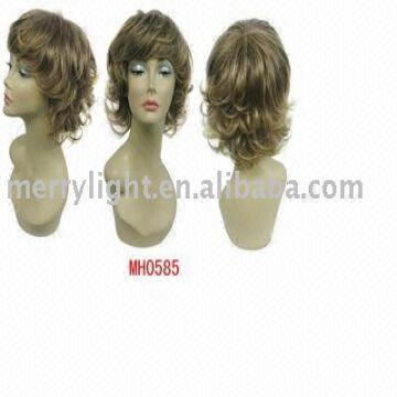 Mono Wig Mono Top Full Lace Wigs Synthetic Mono Wig Silk Based