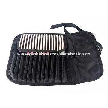 cebd3eb919 Striped Portable Makeup Brushes Bag Pouch China Striped Portable Makeup  Brushes Bag Pouch