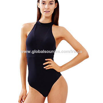 365f1ea23c China Solid Color Fashionable One Piece Swimsuits on Global Sources