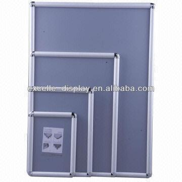 25mm Aluminum A1 Size Round Corner Picture Frames Round Corners Anti