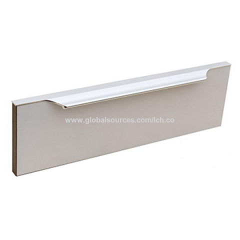 Hong Kong Sar Aluminum Kitchen Cabinet Door Frame Profile Handle On