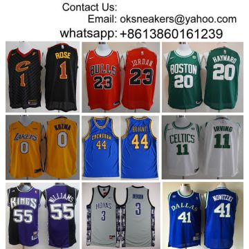 aa16b3125 China Wholesale NBA Jersey Men NBA Basketball Shirt NBA Clothes Wholesaler  Player version Fans version