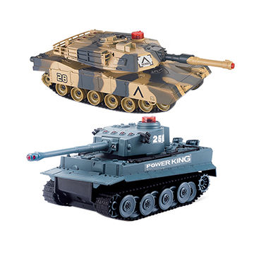 2 4G 1:32 Twin Infrared Battle RC Tank Toy Twin Pack   Global Sources