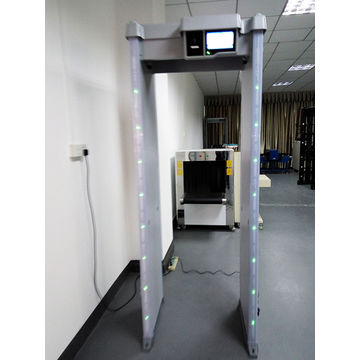China Walk through door frame archway metal detector for entrance checking