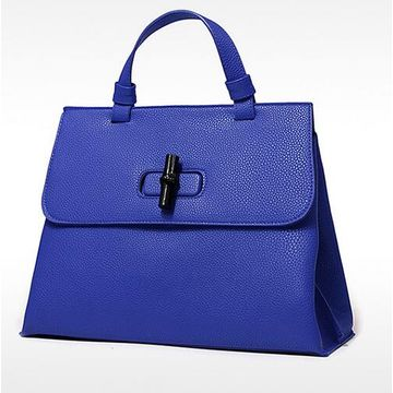 Hong Kong SAR Colorful PU leather handbags with strong handle flap, bamboo cool close, customized welcomed
