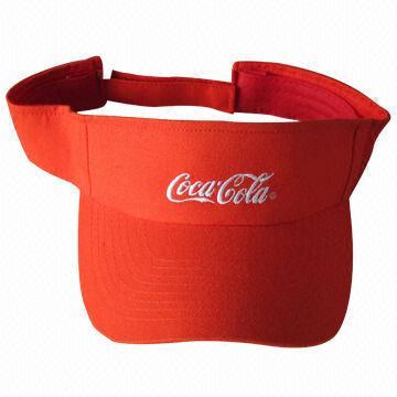 Promotional hat visor cap sports visor embroidered sun cap 81bf41145b83