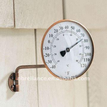 Elegant ... China * Outdoor Thermometer * Brass Thermometer * Garden Thermometer *  Dial Thermometer 4u0027u0027