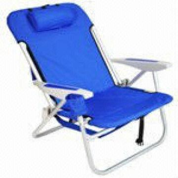 Heavy duty backpack folding beach chair China Heavy duty backpack folding beach chair  sc 1 st  Global Sources & Heavy duty backpack folding beach chair with padded shoulder straps ...