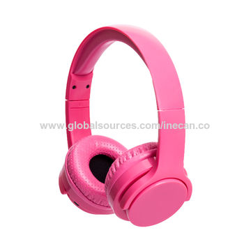 China Kids Wireless Headphone 85db Volume Limited Bluetooth Headphones On Ear Headsets Built In Micphone On Global Sources
