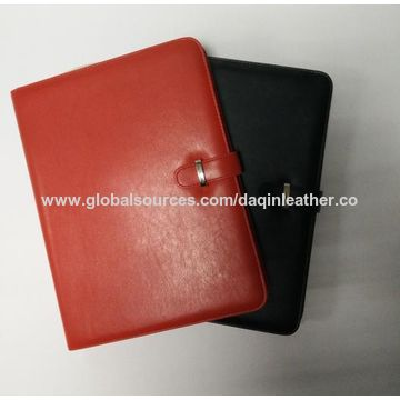 China Synthetic leather portfolios for business and study, OEM are welcome
