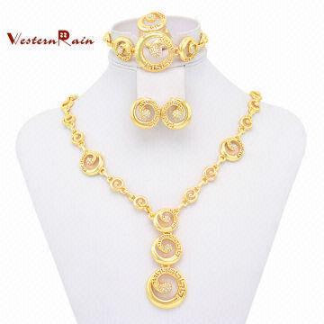 Wholesale 2014 Fashion Emotional Jewelry Elegant Zinc Alloy Gold