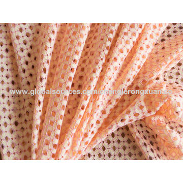 China Jacquard lace fabric, made of 100% cotton, ideal for garment, underwear, bra, home decorations