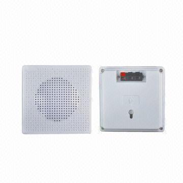 Small Square Bathroom Ceiling Speaker, Speakers For Bathroom Ceiling