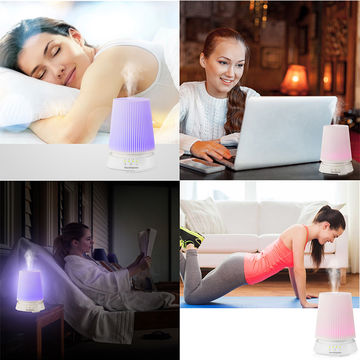 China Scent cool mist humidifier with rainbow colors changed