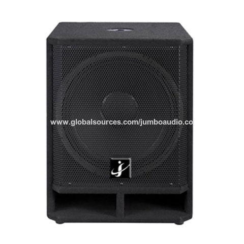 China 18 inch Stage speaker box with carpet cover on Global