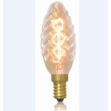 Antique light bulb gold swirl 20 watt b11 decorative chandelier china antique light bulb gold swirl 20 watt b11 decorative chandelier 38 in aloadofball Images