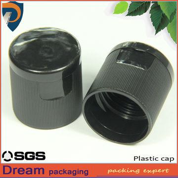 24/415 Ribbed Plastic Cosmetic Bottle Flip Top Press Caps   Global
