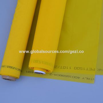 China 25 micron screen, polyester, all types of printing machines