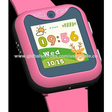 China OEM children 3G smart watch US3 5GPS:GPS+WIFI+GSM+AGPS+G-senor for kids USMART