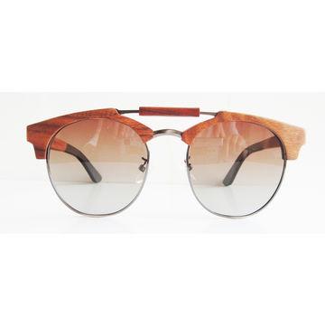 China Handmade Natural Wooden and Bamboo Sunglasses