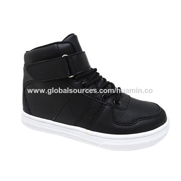 New and stylish kids' shoes, high-cut