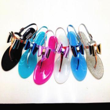 bbb98c01b29ba ... China pvc lady s jelly sandals