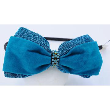 Bow Tie Rhinestones Headband