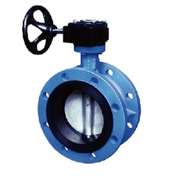 China Center Line Flange Butterfly Valve From Tianjin Manufacturer