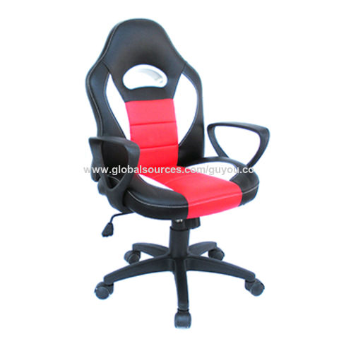 China GUYOU Height Adjustable Leather Kids Racing Chair Hot Sale Gaming  Swivel Chair For Children ...
