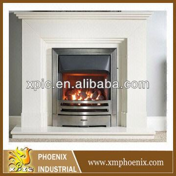 Hot Sell Fireplace Marble Fireplace White Marble Fire Place Lowes