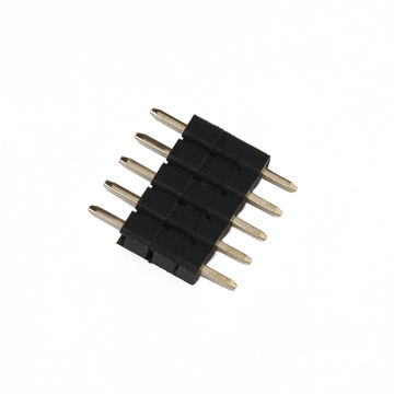 China 2.54mm Pitch Single-row and Straight Type Pin Header with 6.7mm height, 3.0A Current Rating