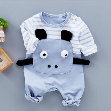 27e63957a38e Baby Boy Romper with Cute Bear Newborn Coming Home Outfit Baby Boy ...