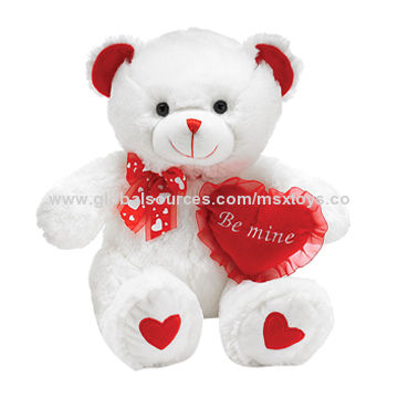Schön China Beautiful Teddy Bear Plush Toys With Heart Cushion For Valentineu0027s Day  And Motheru0027s Day Gifts