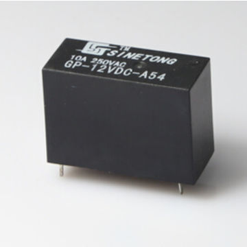 12v 10a 0 54w Electromagnetic Relay