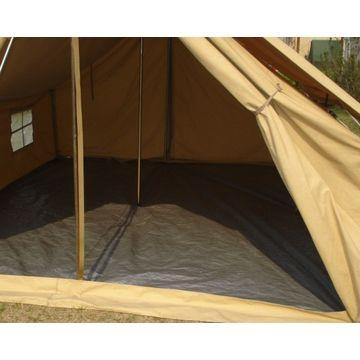 China Single Fly Ridge Type Canvas Family Tent