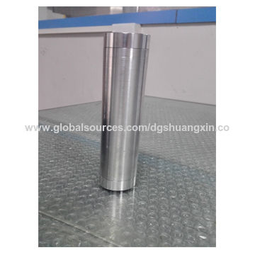 China cnc turning turned D cell solvent trap led aluminu