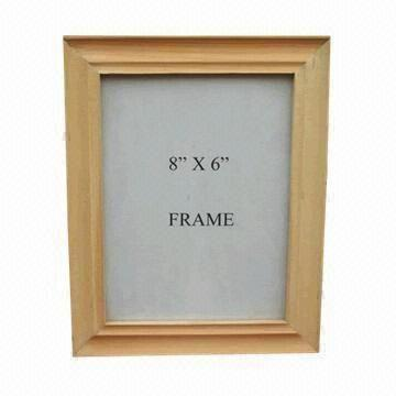 6 x 8 pine photo frame for vertical or horizontal prints