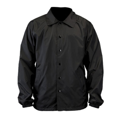 China Plain black men's windbreakers, jackets without hood,made of ...