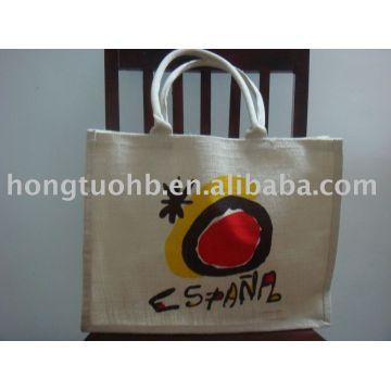 Eco Bag Eco Friendly Jute Shopping Bag 1 Jute Fabric Density 52