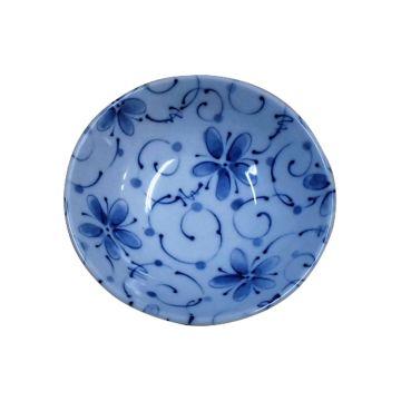 India Anese Ceramic Bowl Flower Design Microwave And Dishwasher Safe
