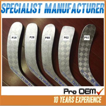 Popular balde patterns available P92/P88 pro hockey stick/Custom