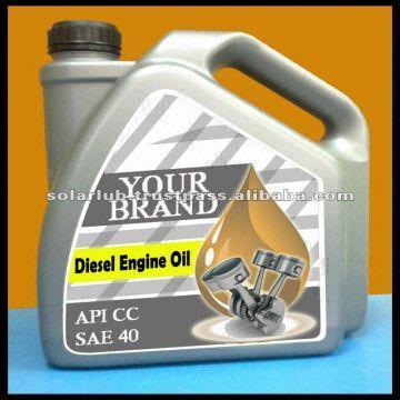 High Quality Heavy Duty Automotive Diesel Engine Oil