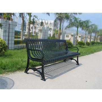 China 6 Feet Long Outdoor Metal Bench Cast Iron Park Bench Wrought Iron  Garden Bench