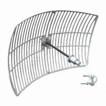 24dBi Square Grid Parabolic Antenna Compatible With Vertical Or Horizontal Polarization